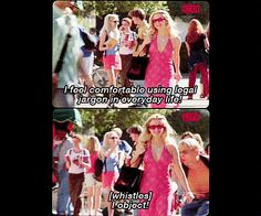 #LegallyBlonde (2001) Movie Quotes, Funny Quotes, Legally Blonde, I Movie, Good Movies, Make Me Smile, Pop Culture, Champagne, Films