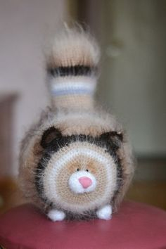 Crochet PATTERN cat 35 cm от magicfilament на Etsy