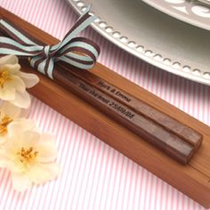 Personalized Engraved Chopsticks