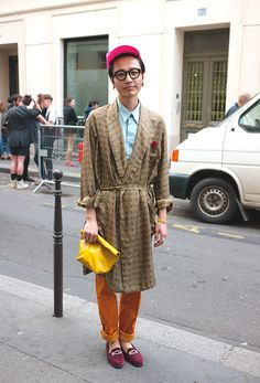 Street style and fashion trends - Lelook | Paris 2013, Rue St Martin