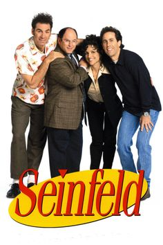 Created by Larry David, Jerry Seinfeld. With Jerry Seinfeld, Julia Louis-Dreyfus, Michael Richards, Jason Alexander. The continuing misadventures of neurotic New York City stand-up comedian Jerry Seinfeld and his equally neurotic New York City friends. Jerry Seinfeld, Seinfeld Tv Show, The Comedian, Larry David, Great Tv Shows, Old Tv Shows, 1990s Tv Shows, Mtv Shows, Movie Posters