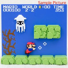 Super Mario Bros. Stage Figure 2-2 Nintendo Dotgraphics JAPAN NES FAMICOM