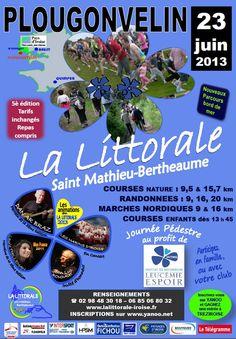 Course La littorale Saint Mathieu Bertheaume 2013 à Plougonvelin. Le dimanche 23 juin 2013 à Plougonvelin. Finistère