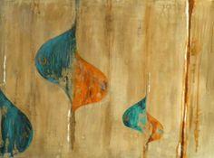 óleo sobre madera 80 x 70 cm