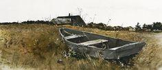 Teel's island. (1954) - Andrew Wyeth (1917-2009.USA)