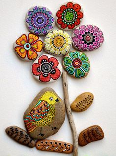 Looking ideas for making art rock for your home decor? Rock painting activities is one of the best ways to spend quality time with your child, it must be fun. Here are some stone art ideas that can inspire you.