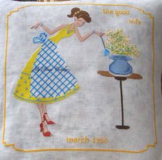 The Good Wife of March 1950 di myrosescottage su Etsy