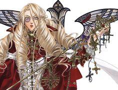 Trinity Blood: in her hands Manga Art, Manga Anime, Blood Wallpaper, Theme Anime, Trinity Blood, Blood Art, Picture Icon, Animation, Light Novel