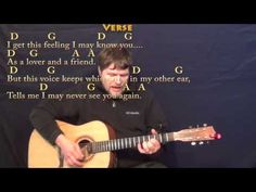Peaceful Easy Feeling (Eagles) Strum Guitar Cover Lesson with Chords/Lyrics - Capo 2nd - YouTube