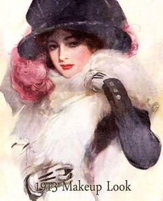 Edwardian Makeup styles Gallery | vintage makeup guide
