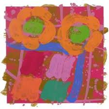 "Albert Irvin - ""Blithe Spirit"", monoprint, Image size: 30 x Paper size: 46 x Howard Hodgkin, Colour Field, Limited Edition Prints, Paper Size, Printmaking, Screen Printing, Abstract Art, Fine Art, Drawings"