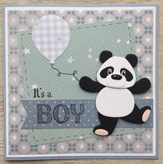 LindaCrea: Panda #3 - It's a Boy