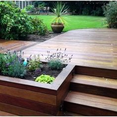 Building your own DIY deck shouldn't be a daunting idea. We'll show you exactly . Building your own DIY deck shouldn't be a daunting idea. We'll show you exactly how to build a simple deck without spending a ton of money Small Deck Designs, Patio Deck Designs, Patio Design, Garden Design, Diy Garden, Herb Garden, Garden Boxes, Terrace Garden, Backyard Patio