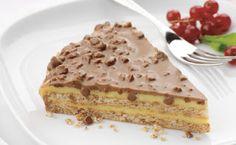 Food Thats Good: Ikea Daim Torte, Thermomix recipe: Layered Frozen Fruity Torte Tenina, Frozen Desserts Kraft Recipes. Food Cakes, Cupcake Cakes, Cupcakes, Baking Recipes, Cake Recipes, Dessert Recipes, Frozen Desserts, No Bake Desserts, Daim Cake