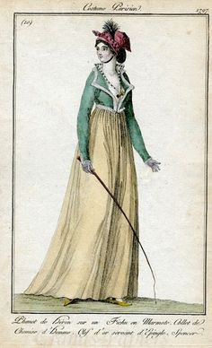 Marmota's Dress Diaries: I wish this were me in 1797