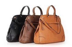 2012 new fashion genuine leather shoulder handbag tote    Price: $99.00
