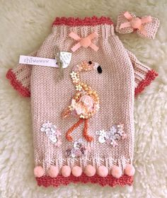 By Chiwowow. Pet Sweaters, Animal Sweater, Crochet Dog Sweater, Dog Jacket, Dog Items, Pet Fashion, Dog Dresses, Diy Stuffed Animals, Pet Clothes
