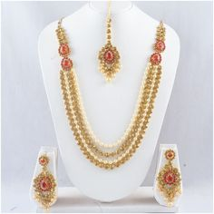 New Stunning Designer Style Indian Ethnic Traditional Bridal Wedding Women Fashion Jewelry Set. Stone: Kundan Gemstone ,Cubic Zirconia(CZ),Rhinestone.   eBay!
