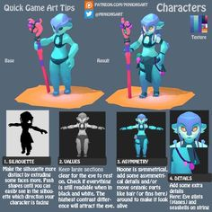 "MinionsArt[Joyce] sur Twitter: ""Tip on building up characters starring a mer-girl :) #gamedev #lowpoly #tutorial https://t.co/FqAsMb9Plg https://t.co/g9k9EjLvdT"""