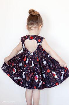 Sweetheart Dress PDF Sewing Pattern