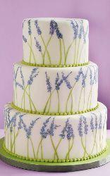 Pretty Lavender Cake...