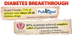 The diabetes breakthrough you are about to discover is twice as effective as the leading type 2 drug at normalizing blood sugar, stopping neuropathy pain, preventing blindness, amputations and other diabetes problems. Lower Your Cholesterol, Cholesterol Levels, Enlarged Liver, Loma Linda University, Thyroid Imbalance, Weight Loss Problems, American Diabetes Association, Cure Diabetes Naturally, Vegetarische Rezepte