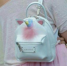 Buy 2018 Fashion Unicorn Cartoon Pu Backpack Bag School Cute Women Girl Traval Mini at Wish - Shopping Made Fun Unicorn Gifts, Cute Unicorn, Unicorn Ears, Rainbow Unicorn, Fashion Bags, Fashion Backpack, Cute Mini Backpacks, Mini Mochila, Mode Kawaii