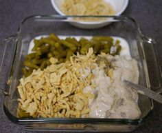 Campbell's Green Bean Casserole - Recipe File - Cooking For Engineers