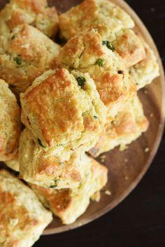Elizabeth Falkner's Bacon, Scallion and White Cheddar Biscuits