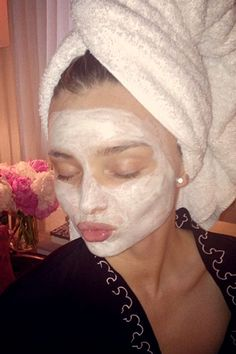 Afternoon face mask by KORA Organics
