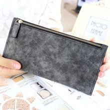 2017 new womens long wallets female fashion PU leather zipper clutch wallet Coin Purses Mobile Phone Bags Lady Card & ID Holders //FREE Shipping Worldwide //