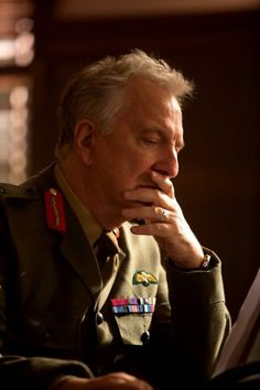 "2015 - screen-cap ""Eye in the Sky"" I miss Alan Rickman.  I hate knowing he's gone and won't be making anymore wonderful movies. =("