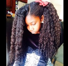 Wow! This is a gorgeous head of hair!