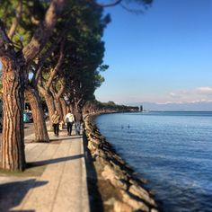 Peschiera del Garda - one of my favourite memories is walking along here with my Dad
