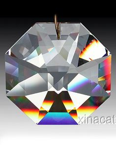 Great octagon prism, available at XinaCat.com, makes the best rainbows!