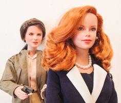 Sheila Carter & Lauren Fenmore Dolls