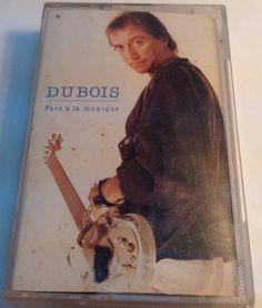 CLAUDE DUBOIS Tape Cassette FACE À LA MUSIQUE 1985 Pingouin Distributions Claude Dubois, Cassette, Painting, Music, Painting Art, Paintings, Painted Canvas, Drawings
