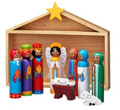 Deluxe Nativity Set available from www.twinsgiftcompany.co.uk