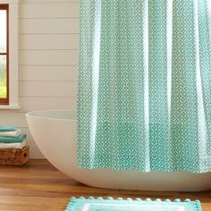 Dottie Shower Curtain Shower Curtains Curtains And Showers