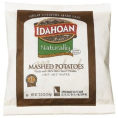 I'm learning all about Idahoan Naturally Potato Mix Units at @Influenster!