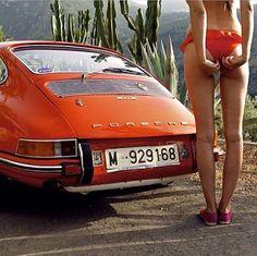 with Porsche 911 by e. Porsche Classic, Classic Cars, Porsche Autos, Porsche 912, Porsche Club, Auto Girls, Car Girls, Ferdinand Porsche, Sexy Cars
