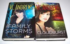 V.C. Andrews March Family Series 2 HC Lot Family Storms Cloudburst