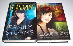 V.C. Andrews March Family Series 2 HC Lot Family Storms Cloudburst