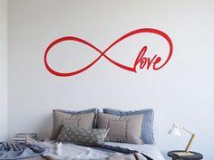 Love Wall Decals Endless Love Wall Decal Wall by GlixWallDecal Wall Stickers, Wall Decals, Wall Art, Love Wall, Landscape Walls, Sticker Shop, Decoration, Nursery Decor, Design