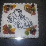 Leuke verjaardagstaart van Bakkerij Excellence http://www.excellence.be
