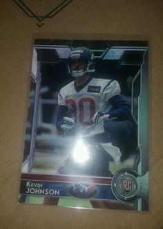 2015 Topps Football Kevin Johnson #436 Houston Texans Rookie in Sports Mem, Cards & Fan Shop, Cards, Football | eBay