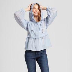 Women's Anorak Jacket - A New Day™ Light Blue : Target