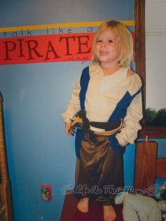 September 19th - Talk Like a Pirate Day