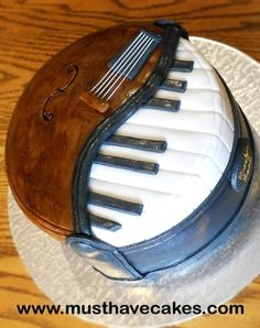 Musical Instruments Birthday Cake By Angelique_MustHaveCakes on CakeCentral.com