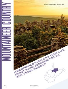 West Virginia Official Visitors Guide 2017